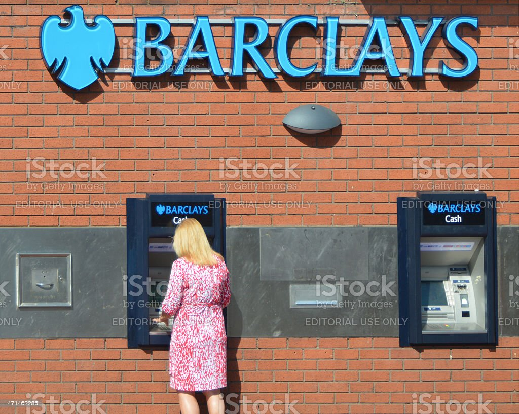 Barclays Bank stock photo