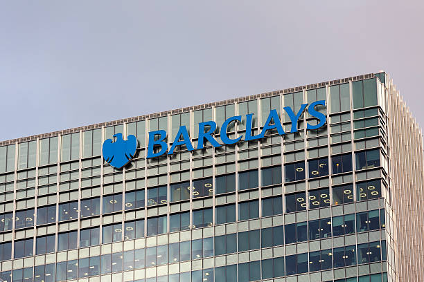 Barclays headquarters in London​​​ foto