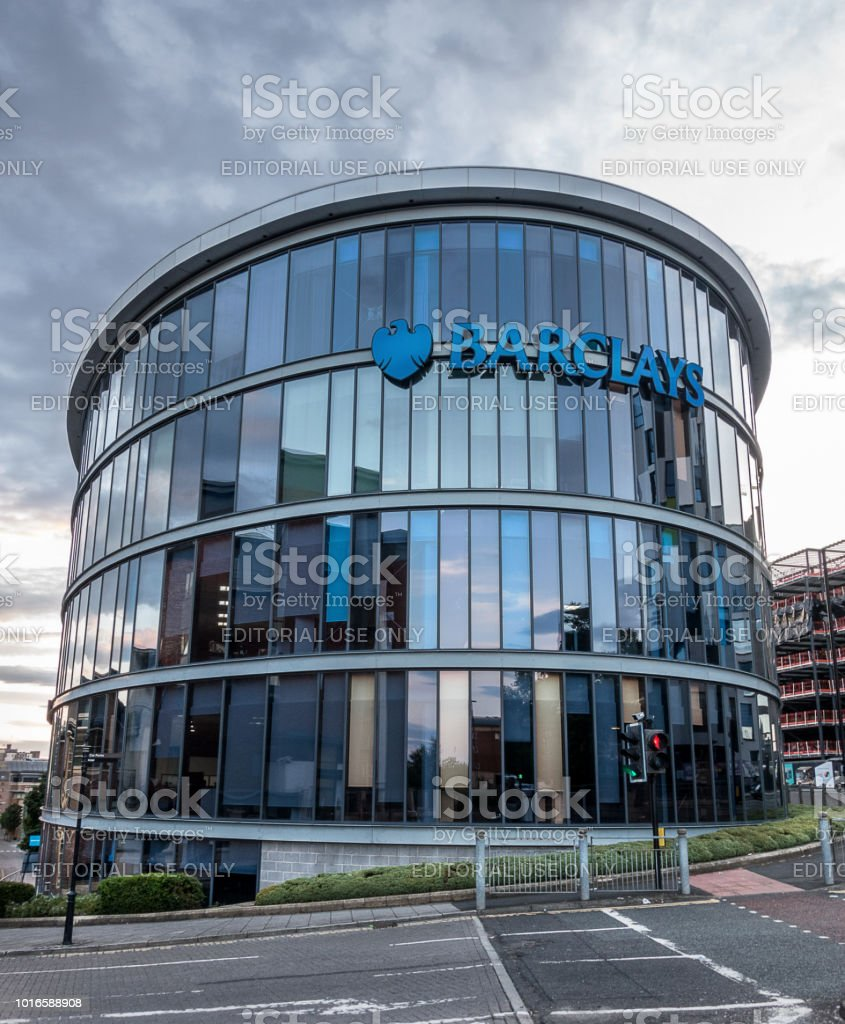 Barclays Newcatle Upon Tyne office building stock photo