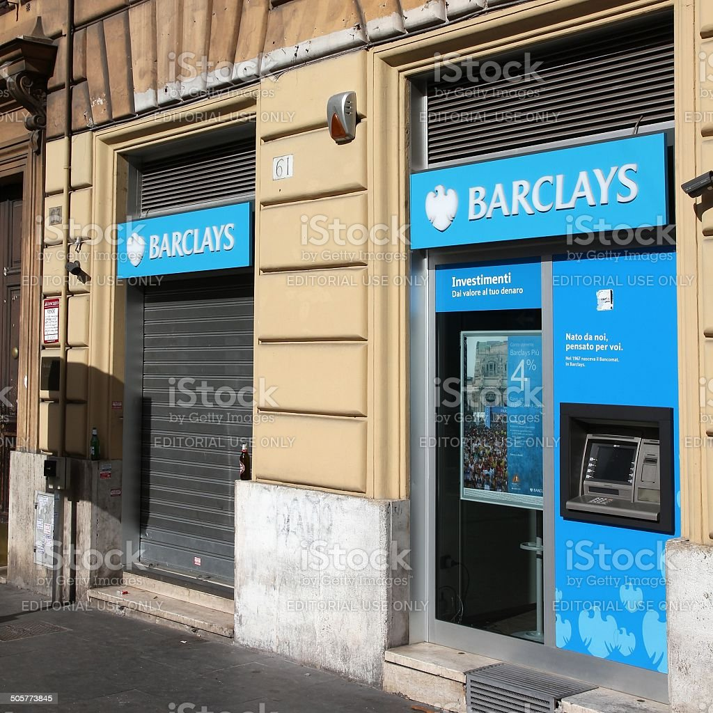 Barclays stock photo