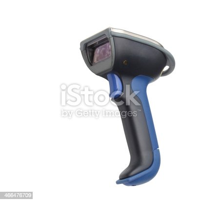 92884259 istock photo Barcode and QR code scanner with bluetooth communication isolate 466476709