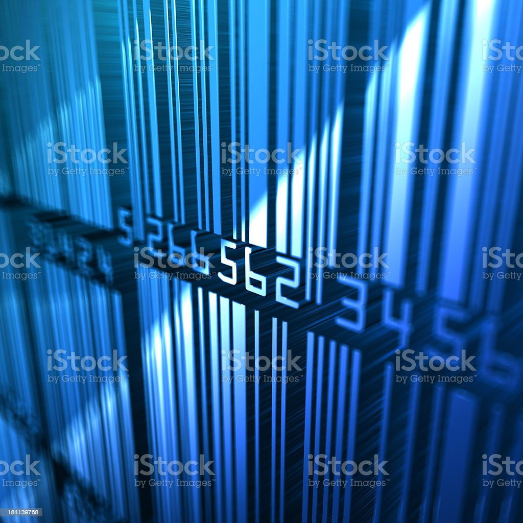 Barcode Background royalty-free stock photo