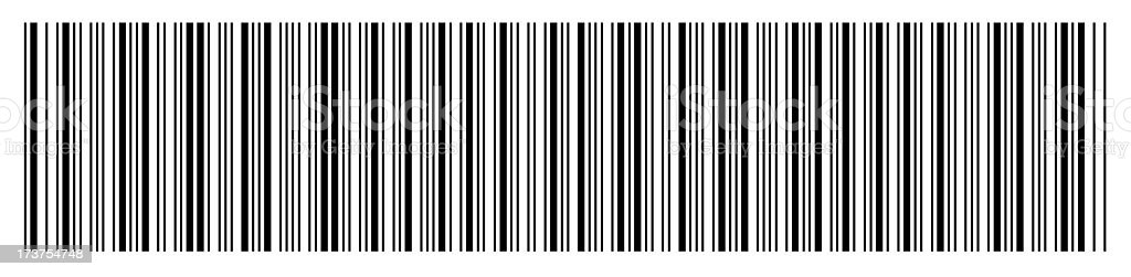 Barcode - blank3 stock photo