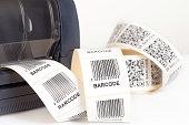 istock Barcode label printer 514654645