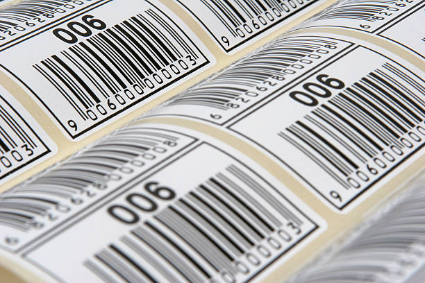 Barcode Labels stock photo