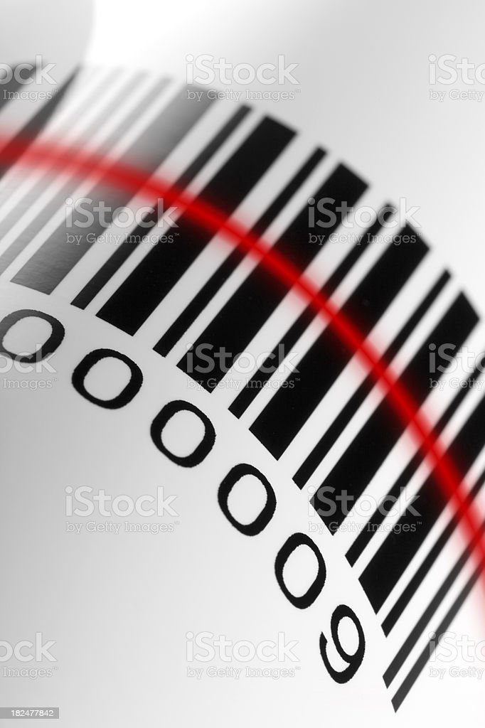 Barcode royalty-free stock photo