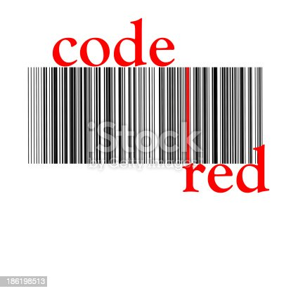 92884259 istock photo barcode red 186198513
