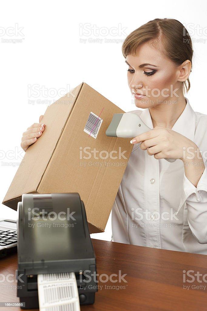 barcoding stock photo