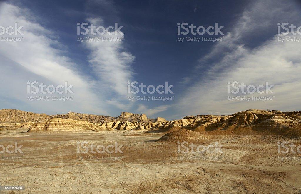 Bardenas Reales Desert stock photo
