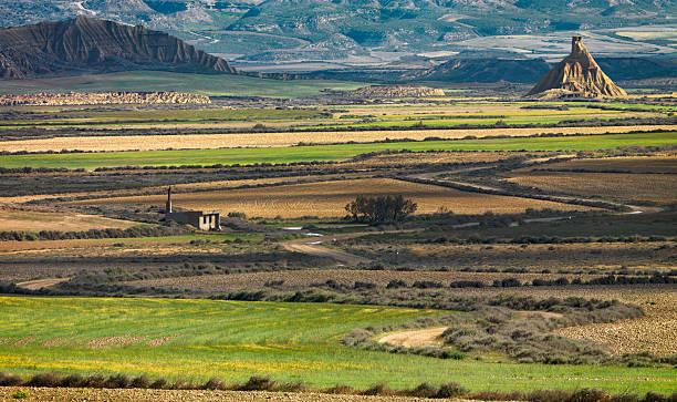 Bardenas Reales in Navarra, Spanien. – Foto