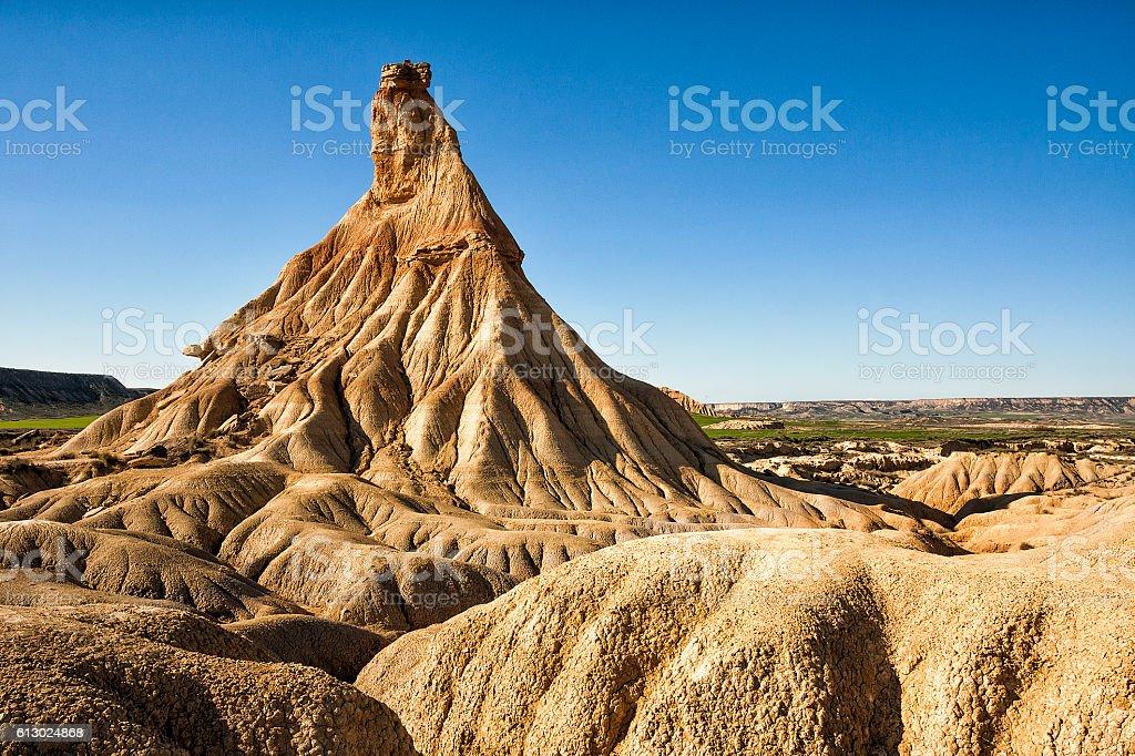 Bardenas Reales natural park in Navara Spain - foto de stock
