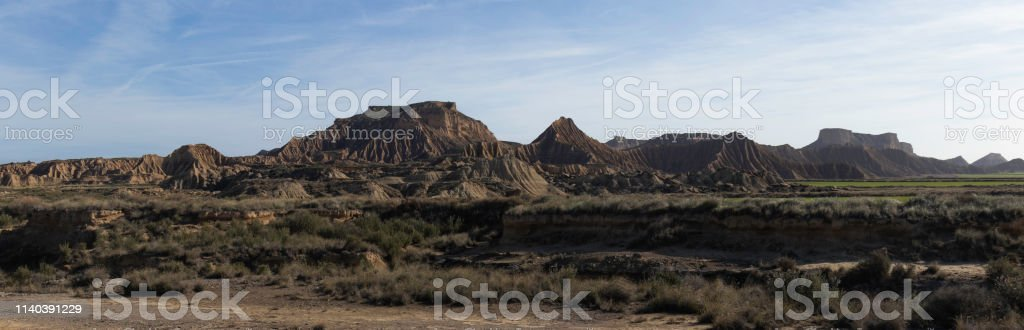 Bardenas Reales stock photo