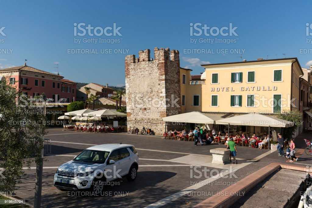 Bardolino Attractive Old Town On The Veronese Shore Of Lake Garda Its Downtown Is Lined With Shops Bars Restaurants And Pizzerias Stock Photo Download Image Now Istock