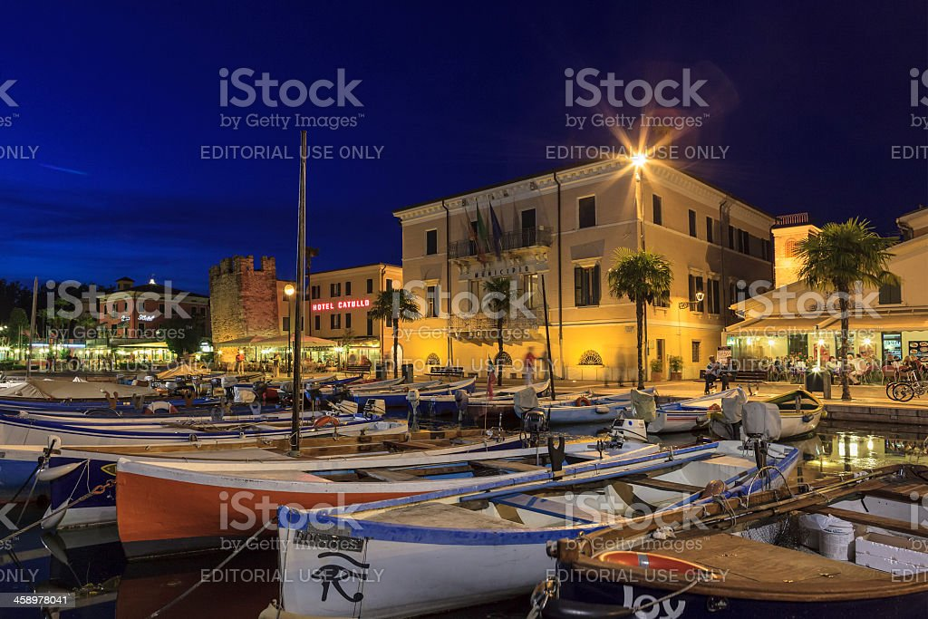 Bardolino, Lake Garda stock photo