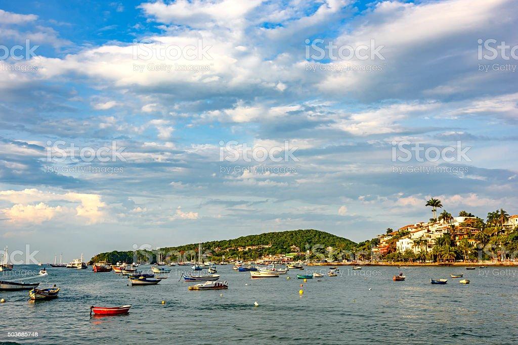 Bardot waterfront stock photo