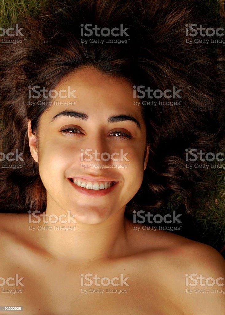 Bare Beauty royalty-free stock photo