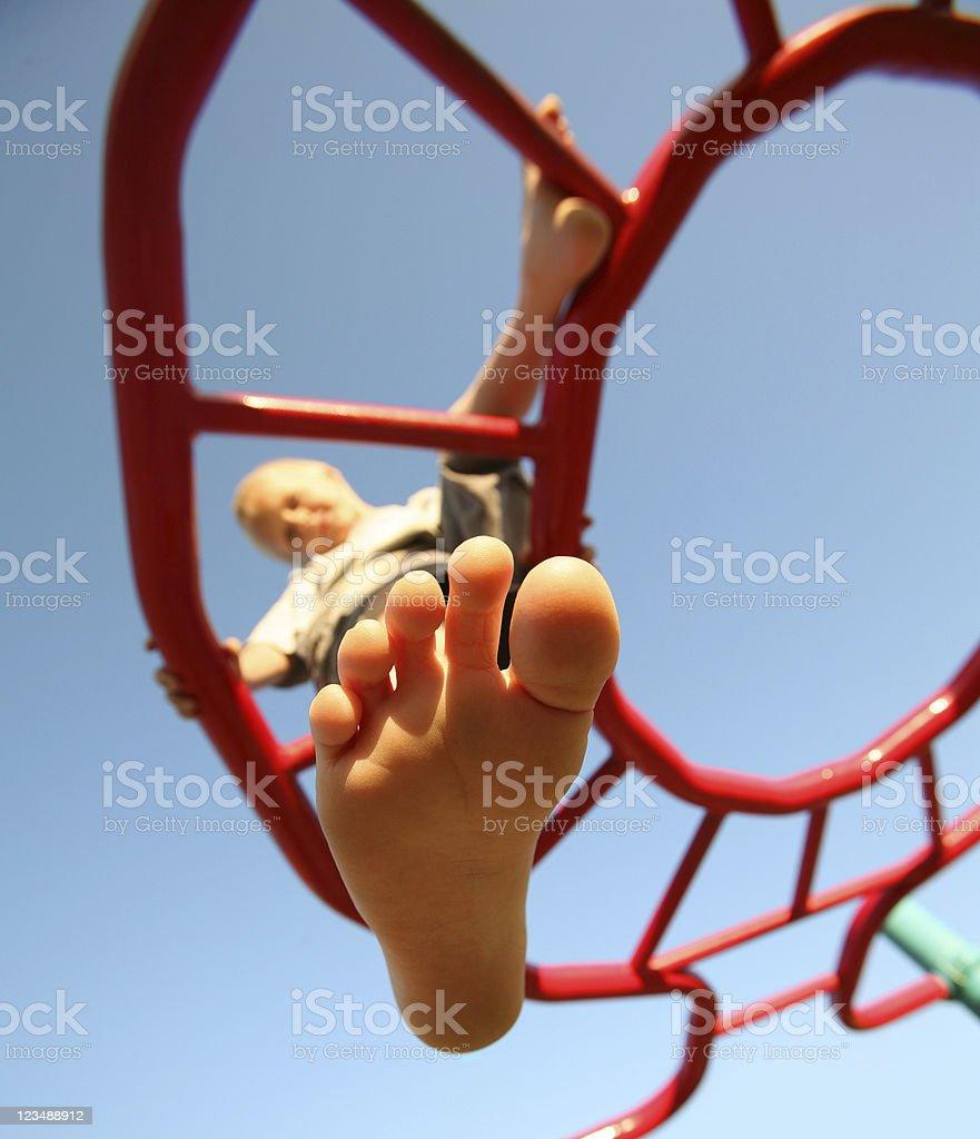 bare foot stok fotoğrafı