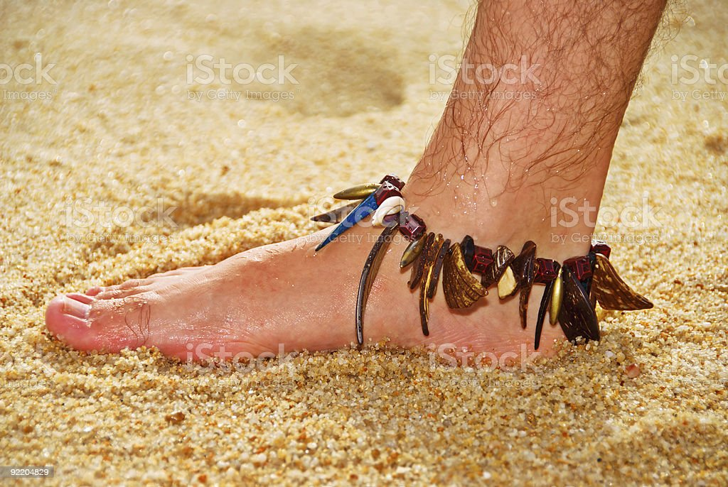 bare foot royalty-free stock photo