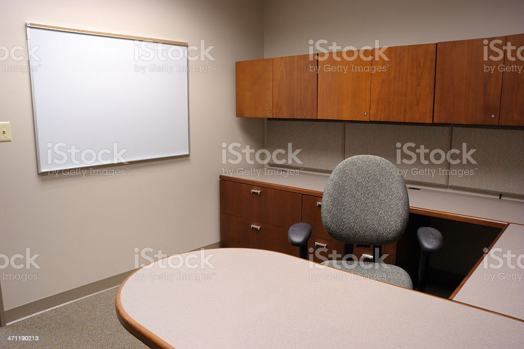 Bare Office royalty-free stock photo