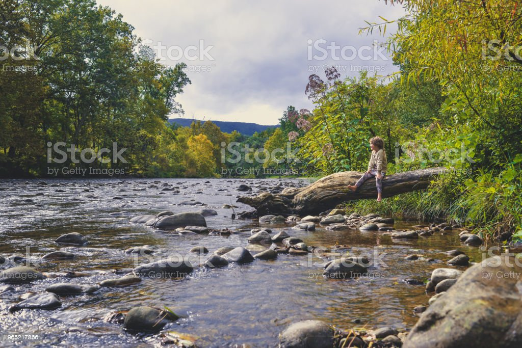 River Rest royalty-free stock photo