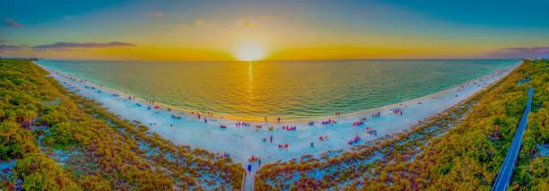 Barefoot Beach, Bonita Springs, Florida stock photo