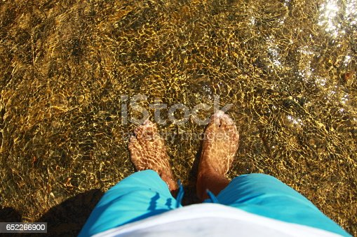 istock barefoot water fun in Bodrum 652266900