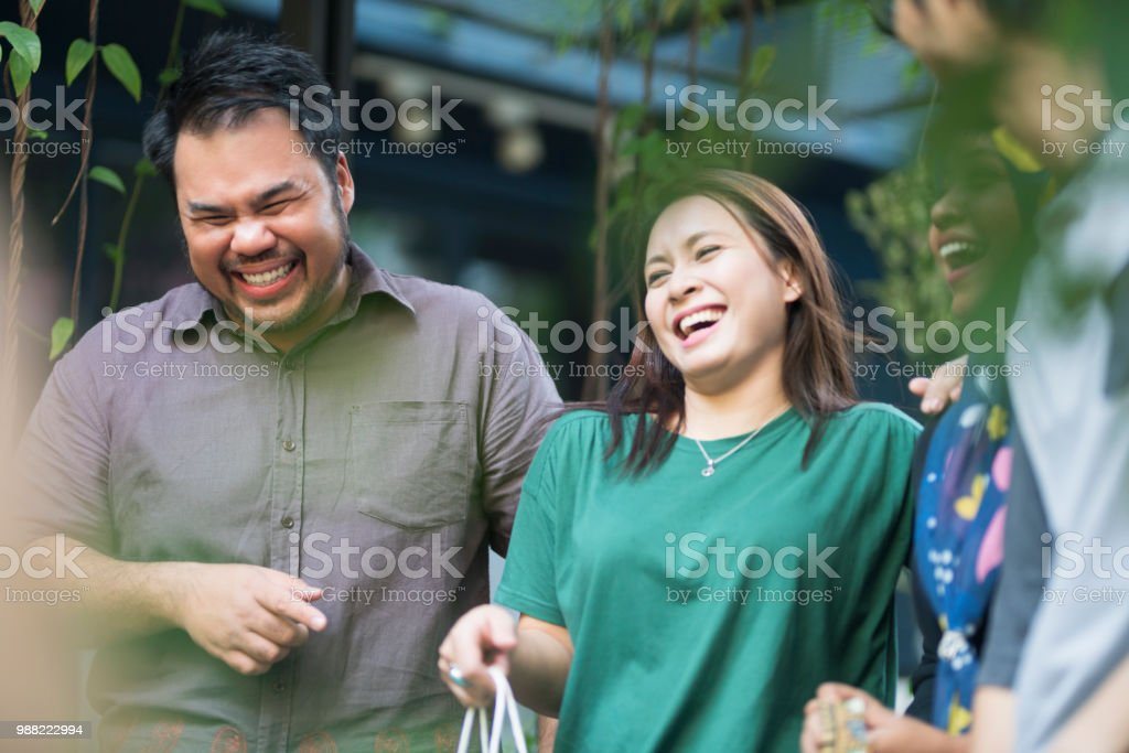 Barely Walking Of Laughter stock photo