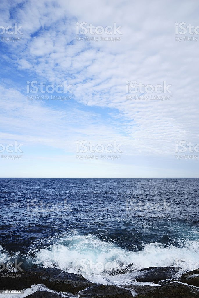 Barents Sea stock photo