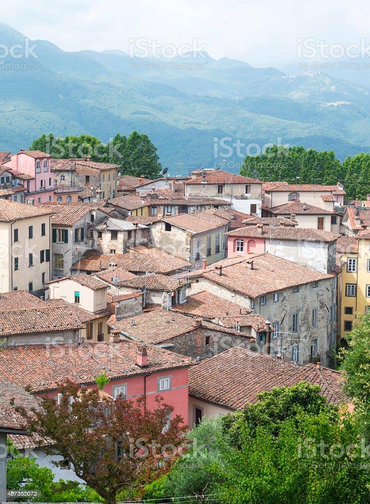 Barga (Tuscany, Italy) stock photo