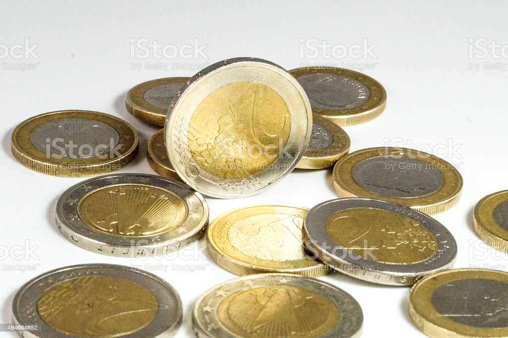 Bargeld Euro stock photo
