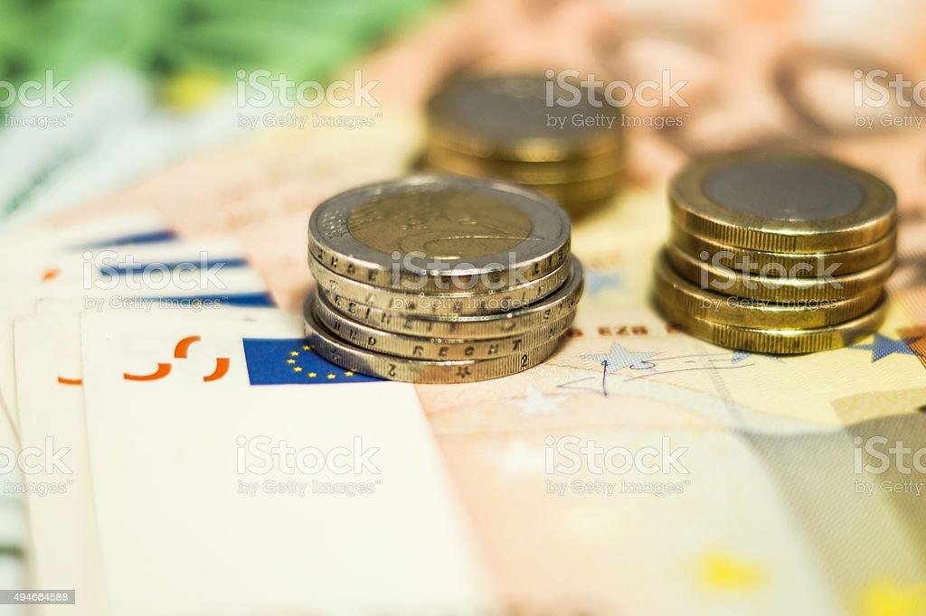 Bargeld stock photo