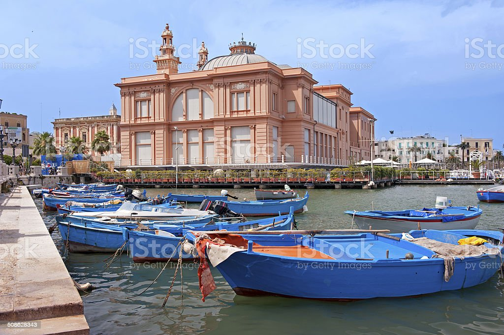 Bari Margherita theater stock photo