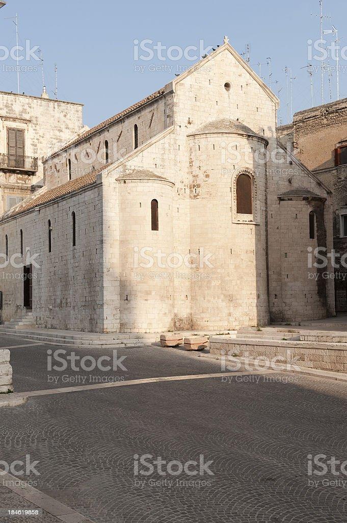 Bari, la Chiesa di San Gregorio Armeno. Pugliese, nell'Italia meridionale - foto stock