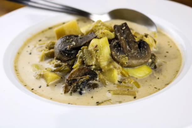 Barigoule Soup - foto stock