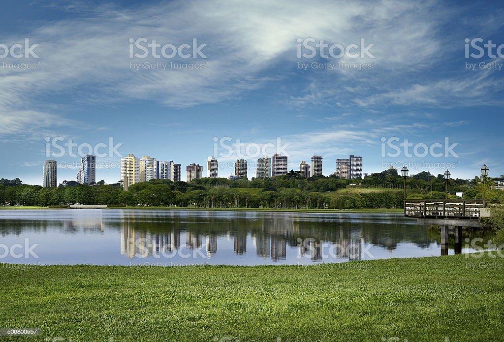 Barigui Park - Curitiba stock photo