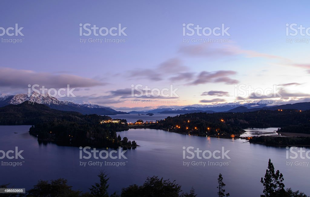 Bariloche , Hotel Llao stock photo