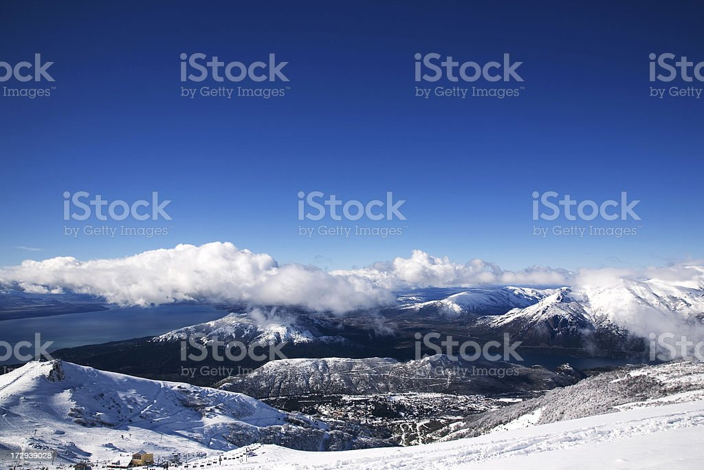 Bariloche royalty-free stock photo