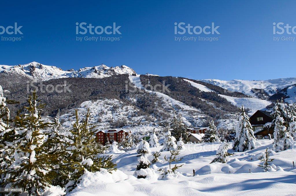 Bariloche Ski Resort stock photo