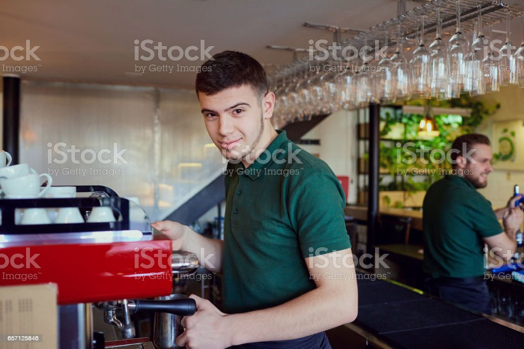 Bartender and barista course