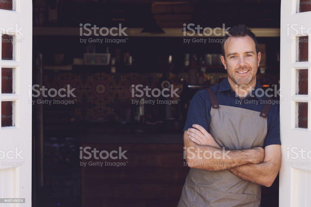 Barista stock photo