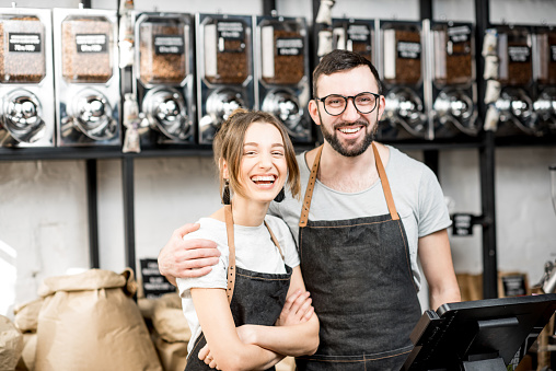 istock Baristas in the coffee sstore 940462874
