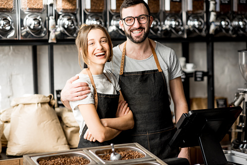 istock Baristas in the coffee sstore 940462998