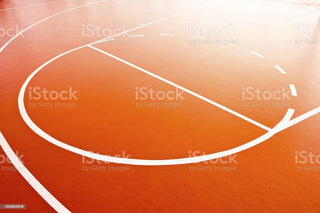 Barketball lines. stock photo