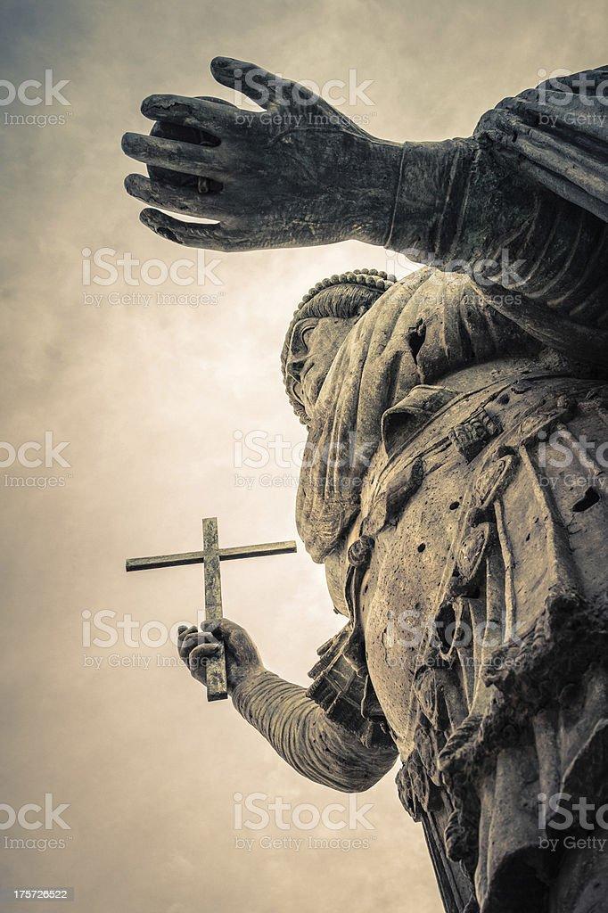 Barletta's Colossus royalty-free stock photo
