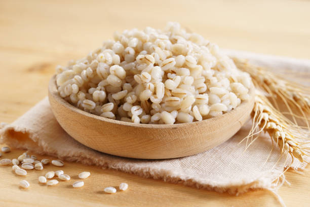 barley grains - barley stock pictures, royalty-free photos & images