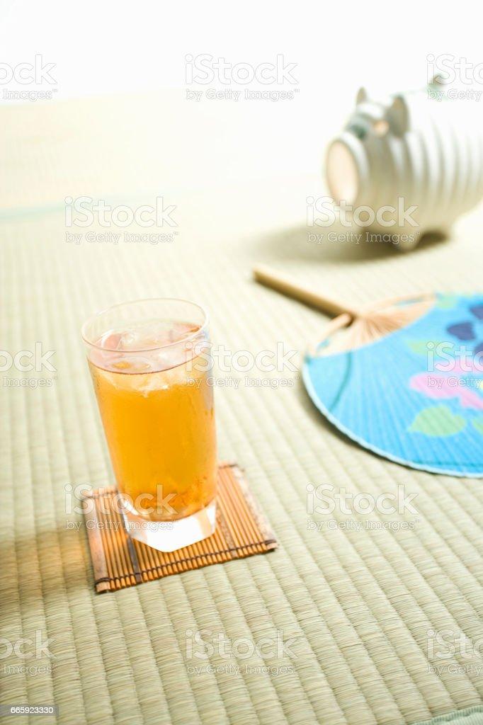 Barley tea foto stock royalty-free