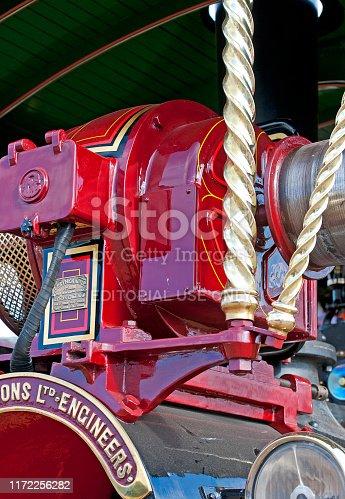 istock Barley-sugar twist of power, England, UK 1172256282