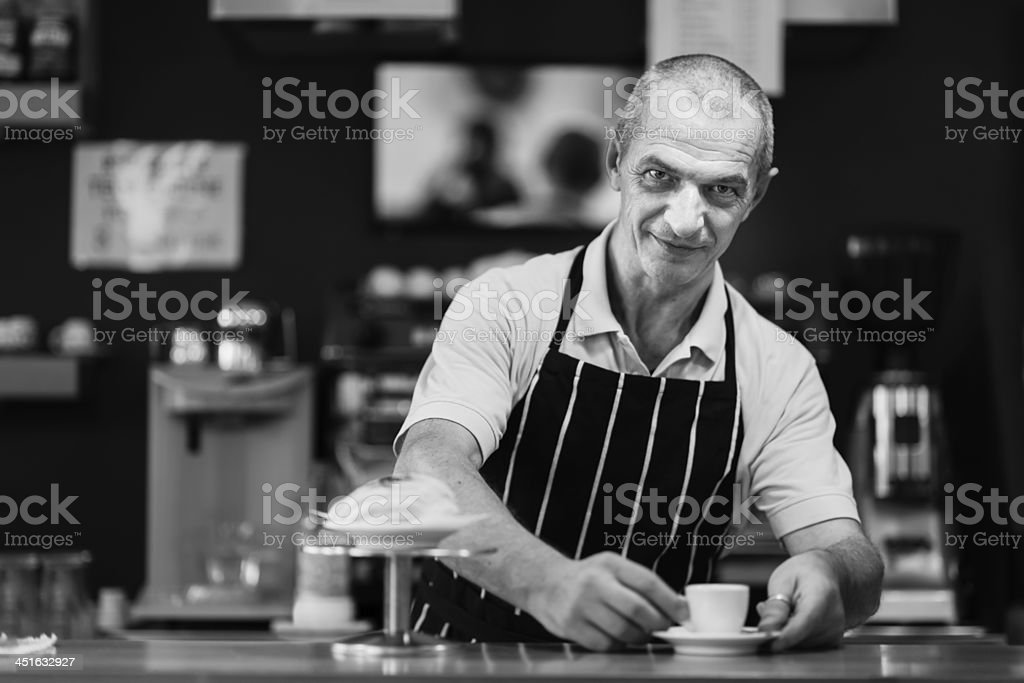 Barman royalty-free stock photo