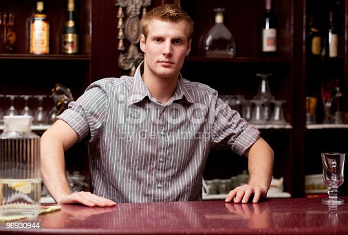 Barman Stock Photo & More Pictures of Adult