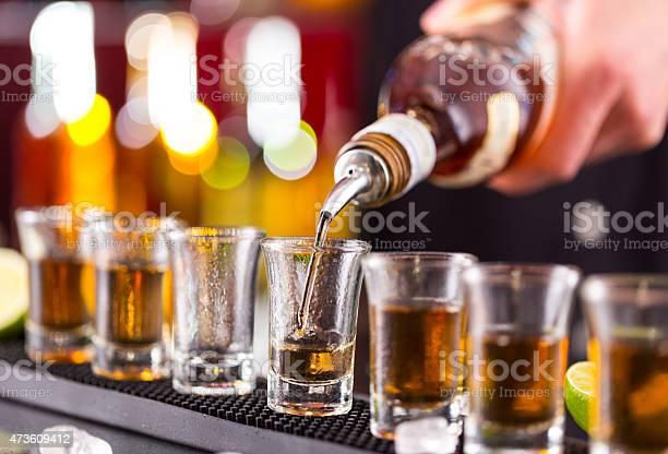 Barman pouring hard spirit into glasses picture id473609412?b=1&k=6&m=473609412&s=612x612&h=gn2 9akar3oaavrslhx5lignqm fx4vc7rywbw8bhk0=